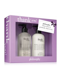 Philosophy 2PC Thank You! Gift Set