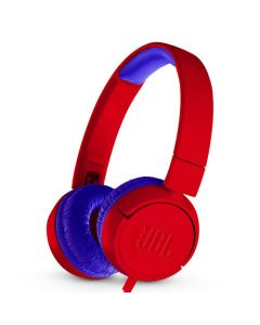 JBL JR300 Kids On-Ear Headphones - Red