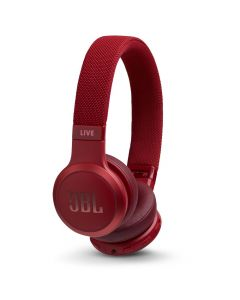 JBL Live 400BT Wireless On-Ear Headphones - Red
