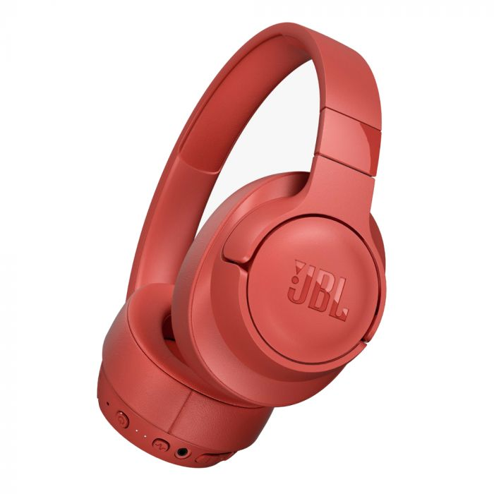 JBL TUNE 750BTNC Wireless Noise-Cancelling Over-the-Ear Headphones - Coral