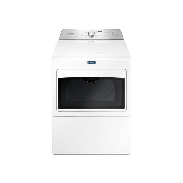Maytag MEDB765FW 7.4 Cu.Ft. 9-Cycle Top Load Electric Dryer With Intellidry Sensor - White