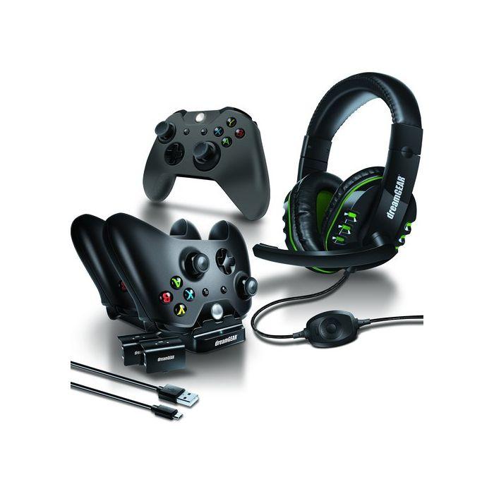 Dreamgear Xbox One 6-Piece Gamer's Kit - Black