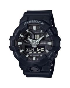 Casio G-Shock Men's Super Illuminator Analog Digital Resin Strap Wath - Black