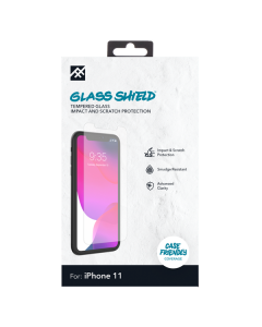 iFrogz Glass Defense Glass Screen Protector for Apple iPhone 11 / XR - Clear