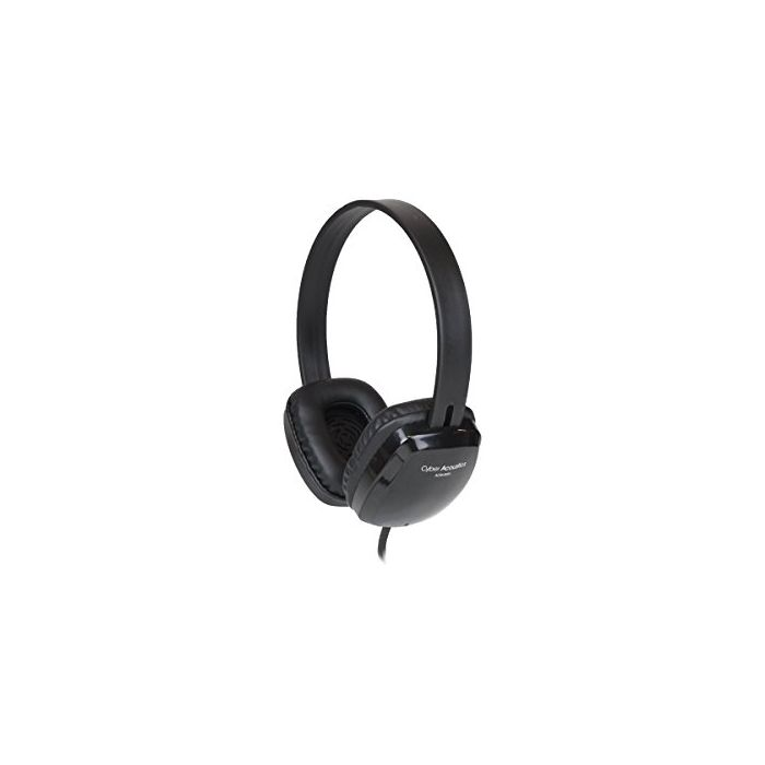 Cyber Acoustics ACM-6005 USB Stereo Headphones - Stereo - USB - Wired - Over-the-head - Binaural - Circumaural
