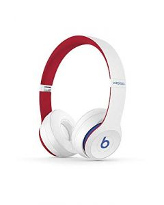 Beats Solo3 Wireless On- Ear Headphones -  Apple W1 Headphone Chip, Class 1 Bluetooth, 40 Hours Of Listening Time -  Club White - Latest Model