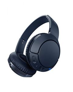TCL MTRO200BT Wireless On-Ear Headphones Super Light Weight Headphones  - Slate Blue