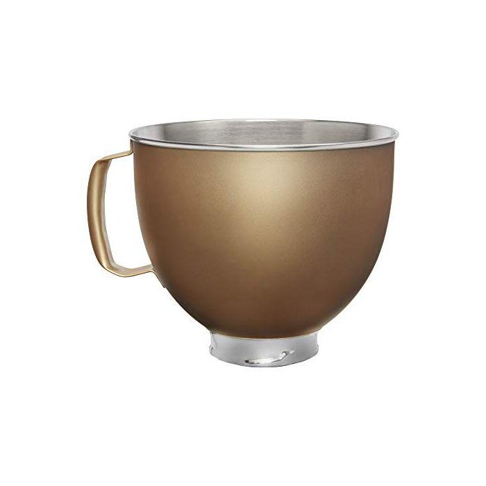 KitchenAid KSM5SSBVG Custom Stand Mixer Bowl - 5 quart - Victoria Gold Painted Stainless Steel