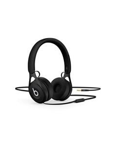 Beats Ep Wired On- Ear Headphones -  Battery Free For Unlimited Listening, Built In Mic And Controls -  Black