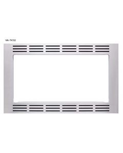 Panasonic 27? Microwave Trim Kit For Panasonic 1.6 Cu Ft Microwave Ovens - Nn-Tk722Ss (Stainless Steel)