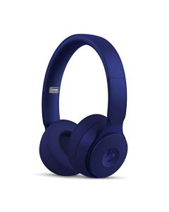 Beats Solo Pro Wireless Noise Cancelling On- Ear Headphones -  Apple H1 Headphone Chip, Class 1 Bluetooth, Active Noise Cancelling, Transparency, 22 Hours Of Listening Time -  Dark Blue