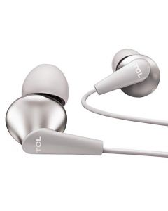 TCL Elit300 in-Ear Earbuds Hi-Res Wired Dual Driver Headphones  - Cement Gray