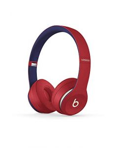 Beats Solo3 Wireless On- Ear Headphones -  Apple W1 Headphone Chip, Class 1 Bluetooth, 40 Hours Of Listening Time -  Club Red - Latest Model