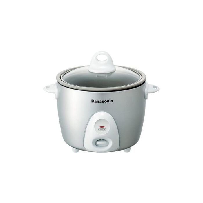 Panasonic Rice Cooker & Multi-Cooker Sr-G06Fgl - 3-Cup (Uncooked) With One-Step Automatic Cooking - Silver
