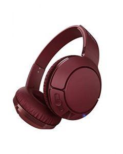 TCL MTRO200BT Wireless On-Ear Headphones Super Light Weight Headphones  - Burgundy Crush