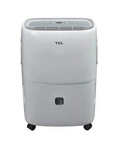 TCL 40 Pint (3,500 sq. ft.) Portable Dehumidifier for Large Bedrooms and Living Rooms - White