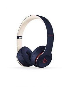 Beats Solo3 Wireless On- Ear Headphones -  Apple W1 Headphone Chip, Class 1 Bluetooth, 40 Hours Of Listening Time -  Club Navy - Latest Model