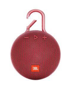 JBL Clip 3 Portable Bluetooth Speaker Fiesta Red