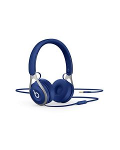 Beats Ep Wired On- Ear Headphones -  Battery Free For Unlimited Listening, Built In Mic And Controls -  Blue