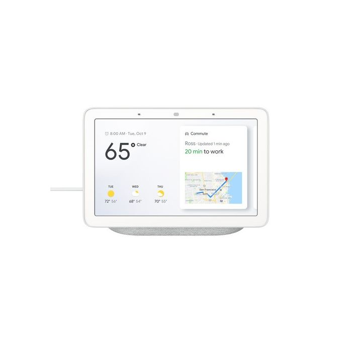 Google Home with Google Assistant 7 Inch Touchscreen - Chalk