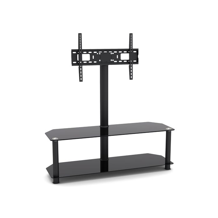 "Glass And Metal TV Stand For TVs Up To 32""-55"""