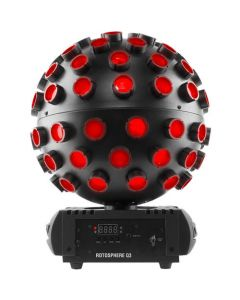 Chauvet DJ Rotosphere Q3 RGBW LED Mirror Ball Simulator Effect with DMX