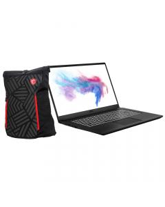 "MSI MODERN15085 Gaming Laptop 15.6"" + Backpack"