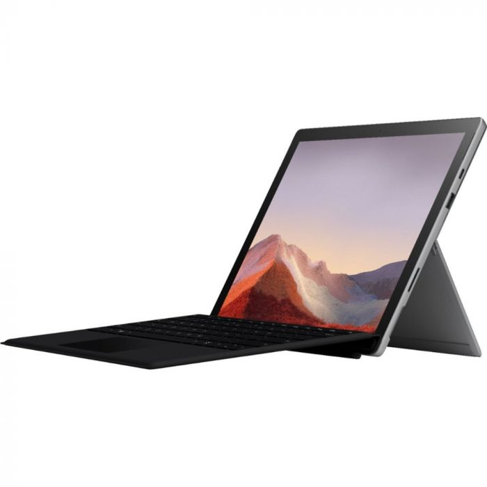 "Microsoft Surface Pro 7 Bundle: QWU00001 Multi-Touch Tablet 12.3""/8GB RAM/128GB SSD + Type Cover"