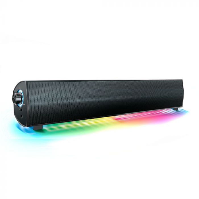 "Maxmus 16.5"" LED Wireless PC Sound Bar"