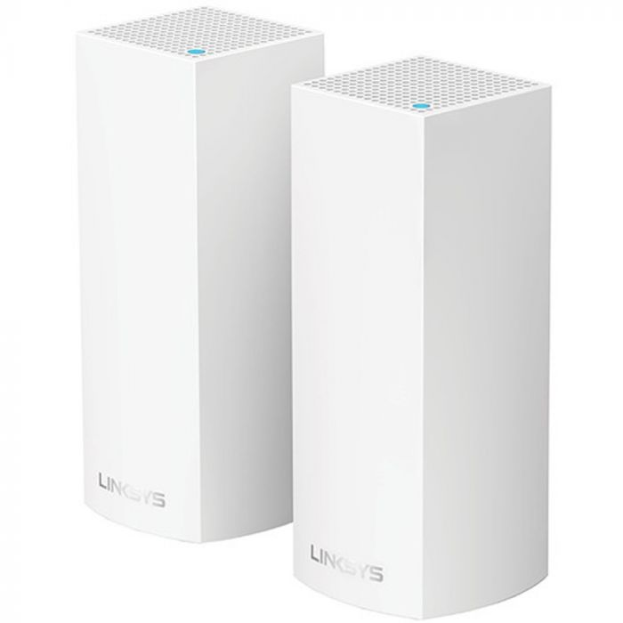 Linksys Velop Wireless AC-4400 Tri-Band Whole Home Mesh Wi-Fi System - White