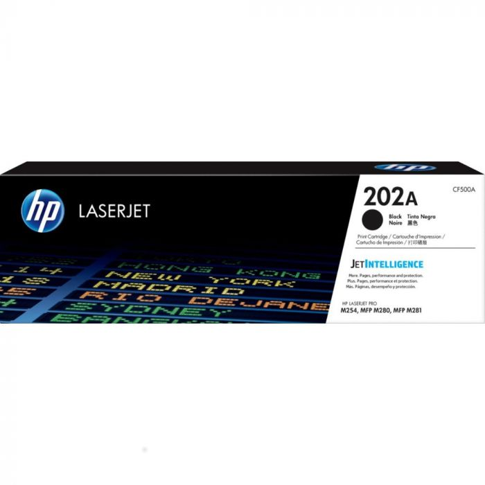 HP 202A Standard Capacity Toner Cartridge - Black