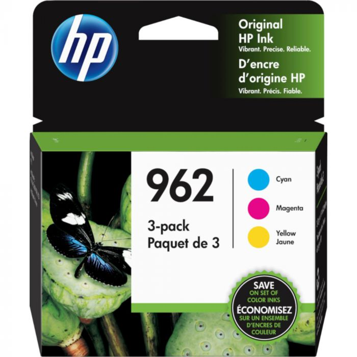 HP 962 CMY Color Ink Cartridge 3-Pack