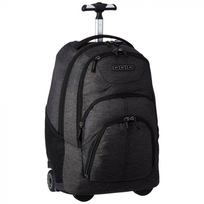 Ogio International Phantom Wheeled Laptop Backpack - Dark Static