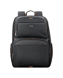 "Solo Urban Thrive 17.3"" Laptop Backpack - Black/Orange"