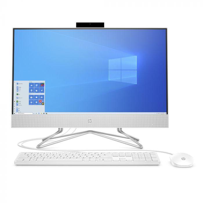 """HP 24"""" AMD Athlon All-in-One Desktop Computer /3050U /8GB RAM/  /24-dd0010 - Silver"""