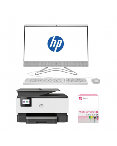 Mom Bundle: HP Desktop + Printer + Multipurpose Paper