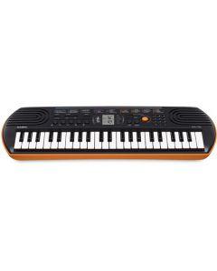 Casio SA76 44-key Portable Keyboard - Orange