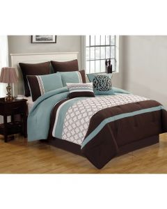 Tolbert 8Pc Queen Comforter Set