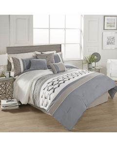 Beren 7 Pc Queen Comforter Set