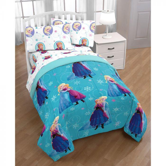 Frozen Swirls Bed in A Bag