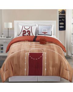 B-Ball 4P Full Comforter Set