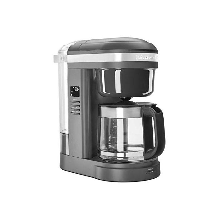 KitchenAid KCM1208DG Spiral Showerhead 12 Cup Drip Coffee Maker - Matte Charcoal Grey