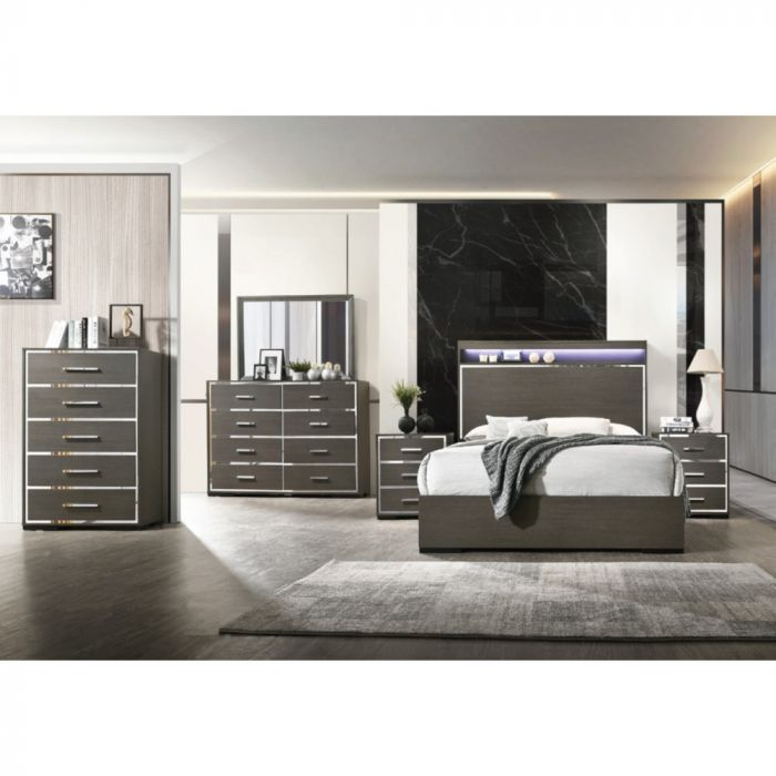 Gala Queen Bedroom 6 Piece Set