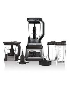 Ninja BN801 Professional Plus Kitchen System with Auto-iQ, and 64 oz. max liquid capacity Total Crushing Pitcher, in a Black and Stainless Steel Finish