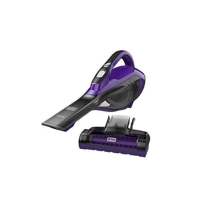 BLACK+DECKER Pet dustbuster Handheld Vacuum - Cordless - Purple  - HLVA325JP07