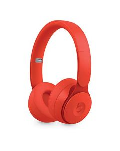 Beats Solo Pro Wireless Noise Cancelling On- Ear Headphones -  Apple H1 Headphone Chip, Class 1 Bluetooth, Active Noise Cancelling, Transparency, 22 Hours Of Listening Time -  Red