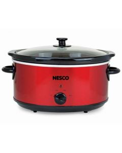 Nesco Sc-6-22 Slow Cooker - 6 Qt - Red