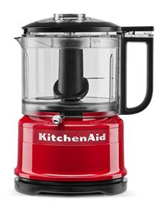 KitchenAid KFC3516QHSD 100 Year Limited Edition Queen of Hearts Food Chopper - 3.5 Cup - Passion Red