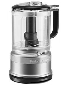 KitchenAid KFC0516CU 5 Cup Whisking Accessory Food Chopper - Contour Silver