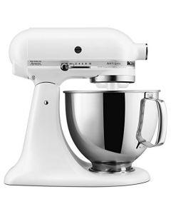 KitchenAid KSM150PSFW Stand Mixers - 5 Qt - Matte White
